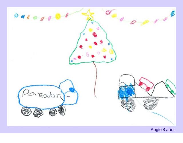 Dibujo de Angie 3 años