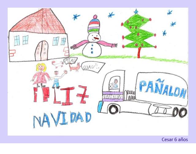 Dibujo de Cesar 6 años