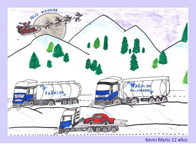 Dibujo de Kevin Mario 12 años