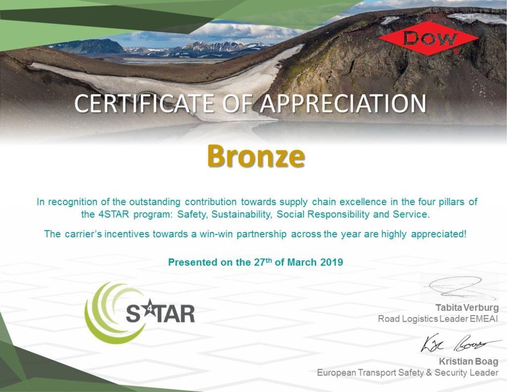 4 STAR Award