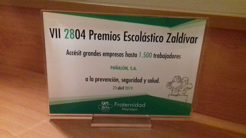 Premio Zaldivar a Pañalón