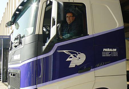 Conductor en tractora